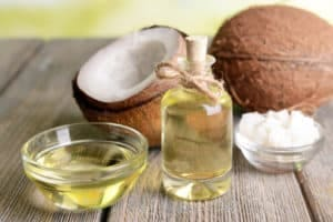Using coconut oil to treat dog hot spots