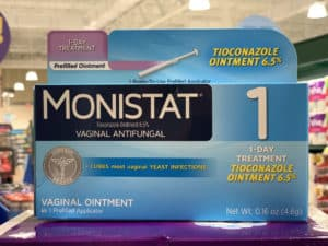 dog ear yeast infection treatment monistat
