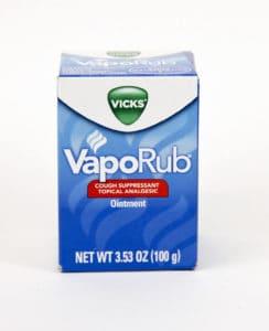 vicks vapor rub